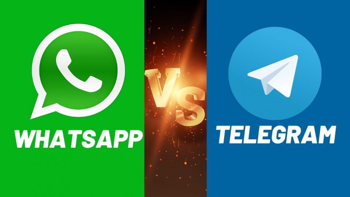 Persaingan Telegram Dan WhatsApp
